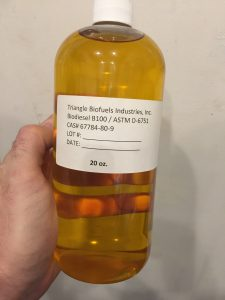 Biodiesel in a bottle