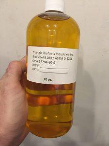Biodiesel in a bottle